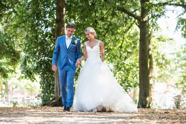 Styled Shoot: A Blue Summer!  - Villa Ruimzicht