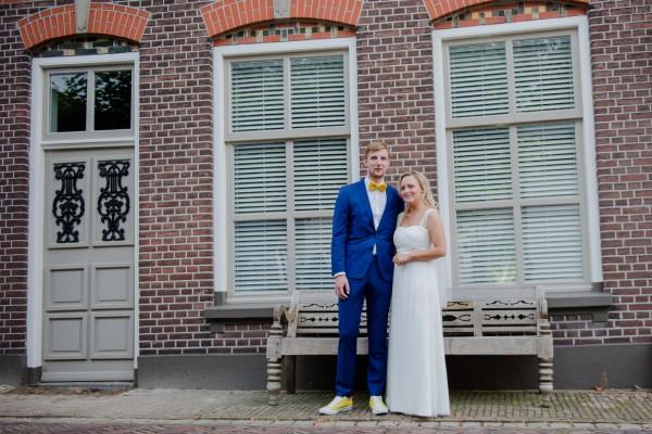 Bruidspaar Lars en Susan Groeneveld