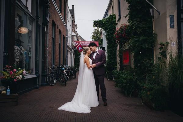Bruid Rosanne Schippers